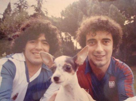 Maradona i Osvaldo Dalla Buona CE Sabadell