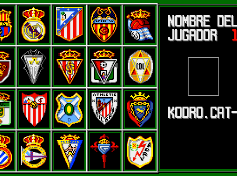 Simulador Profesional de Futbol de Dinamic