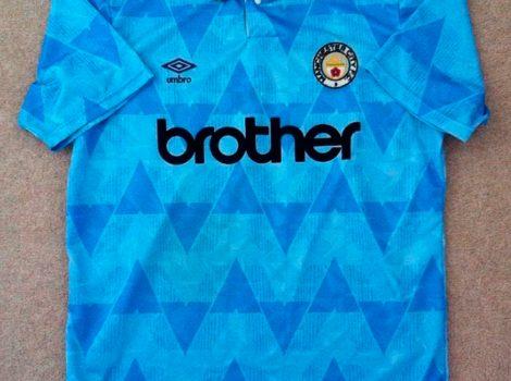 Samarreta Manchester City anys 90