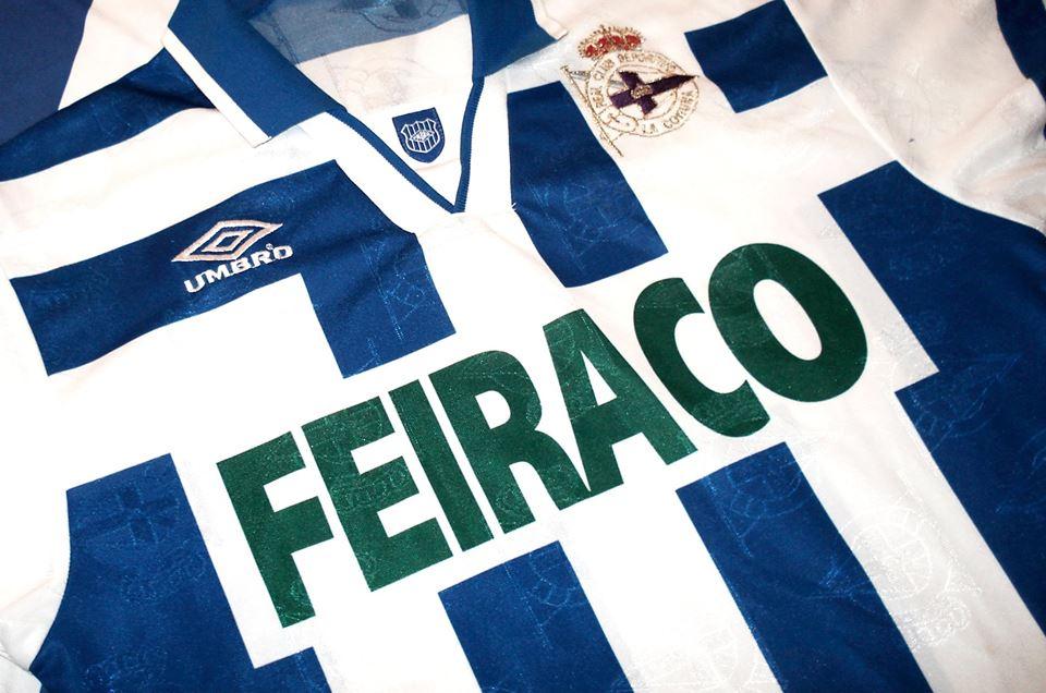 Samarreta Deportivo de la Coruña Feiraco Umbro
