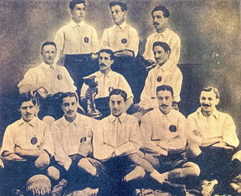 RCD Espanyol de Barcelona foto antiga
