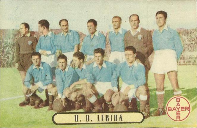 UE Lleida Primera Divisió 1950-1951