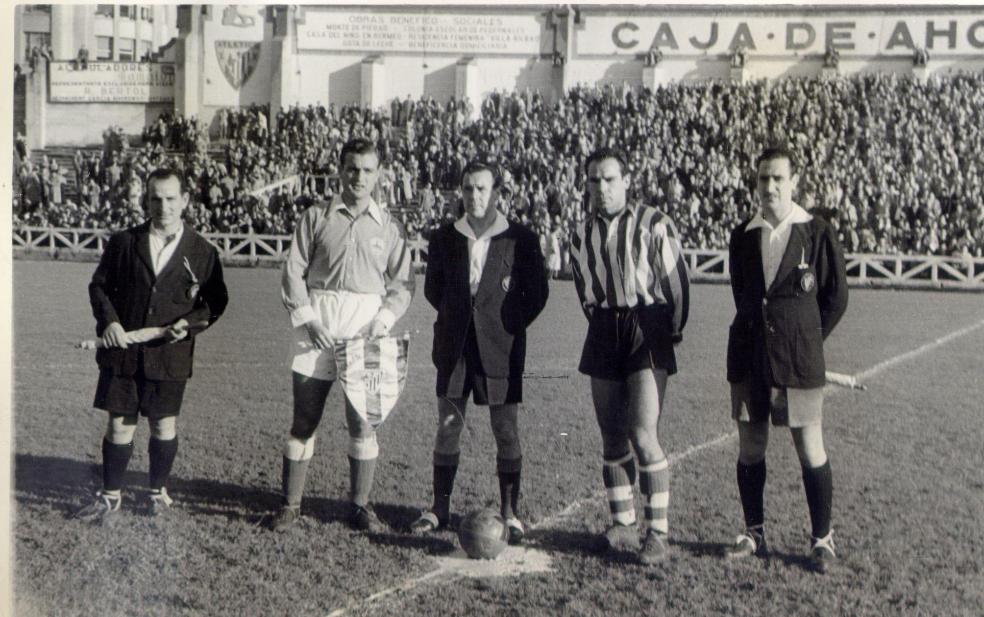 Imatge partit Athletic - Lleida de la 1950-1951
