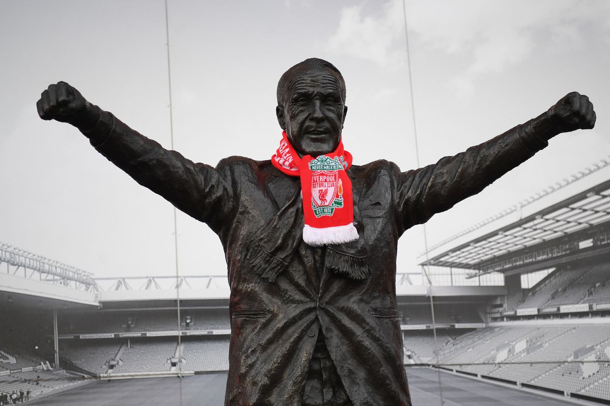 Estatua de Bill Shankly a Anfield