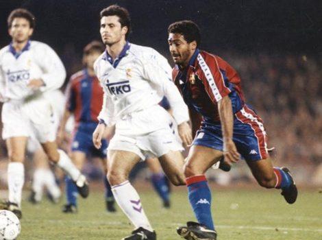 Romario cua de vaca al Real Madrid