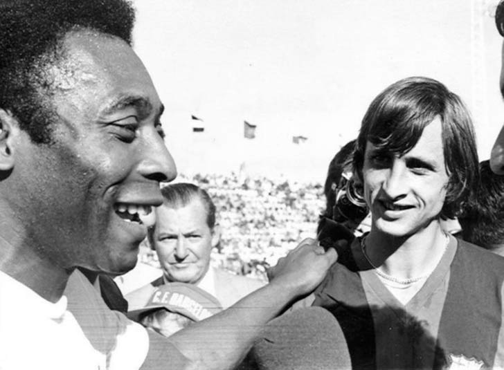 Cruyff Pelé Carranza