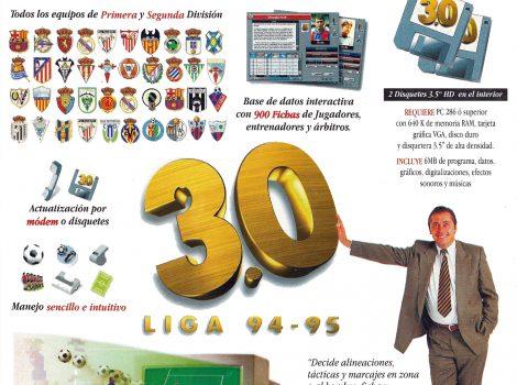 Portada de la revista del PC Fútbol 3.0