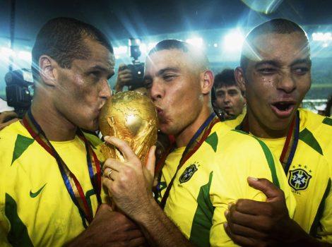 Ronaldo i Rivaldo campions del Mundial 2002