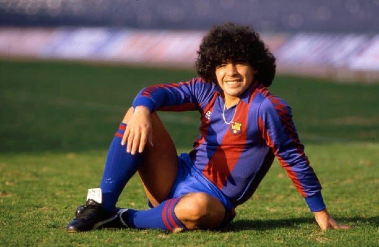 Maradona FC Barcelona samarreta Meyba