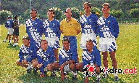 Fitxatges UE Lleida temporada 1995-1996