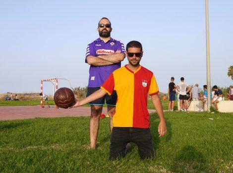 Carlos Roberto i Miquel Sanchis