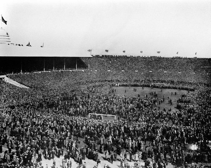 West Ham United v Bolton Wanderers de 1923