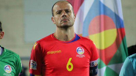 Ildefons Lima capità d'Andorra