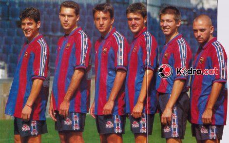 La Quinta del Mini FC Barcelona