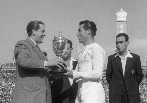 Copa del Generalísimo a Madrid, any 1952
