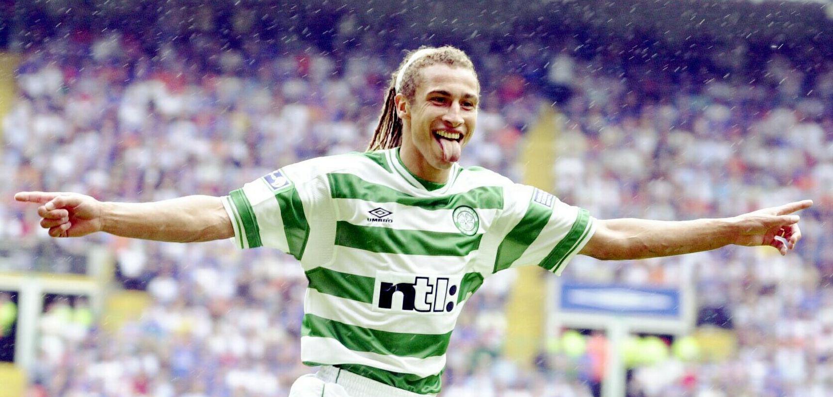 Henrik Larsson Celtic de Glasgow
