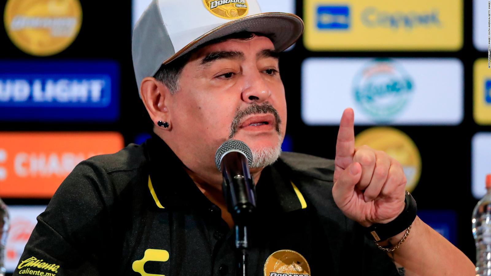 Maradona tècnic de Dorados de Sinaloa